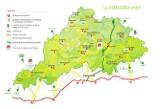 Carte Périgord Vert